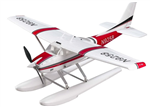Topp RC Cessna 182 med Float Red - 928mm PNP