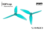 HQ Durable Prop 5.1x4.6x3 Light Teal POPO
