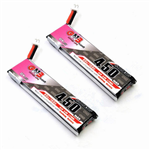 1s 450mAh - 80C - GNB PH2.0 2pc TinyHawk LiHV