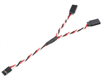 Fuse Y-kabel Twisted universal - 60cm