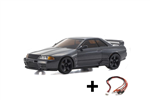 Kyosho Mini-Z AWD Nissan Skyline GTR R32 med LED