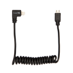 ConnecThor Cable Coiled Micro USB - Lightning