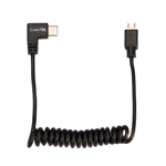ConnecThor Cable Coiled Micro USB - USB Type C
