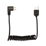 ConnecThor Cable Coiled USB 2.0 - USB Type C