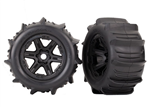 TRX-8674 Tires & Wheels Paddle 3.8inch 17mm (2)