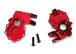 TRX-8252R Portal Housing Inner Front Alu L/R Red