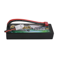 2s  5500mAh - 50C - Gens Ace Bashing Series-deans