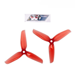 Gemfan Flash Durable 3 Blade 4032 Clear Red