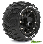 Louise Tire & Wheel MT-Cyclone 3.2 0-offset svart