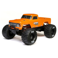 ECX 1/10 Amp Crush 2WD MT Brushed RTR Orange