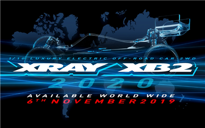 XRAY XB2C 2020 - 2WD 1/10 Buggy Kit - Carpet Ed.