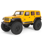 Axial SCX24 Jeep Wrangler Rock Crawler 4WD Yellow