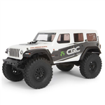 Axial SCX24 Jeep Wrangler Rock Crawler 4WD White