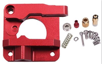 MK8 / CR10 Red Metal Extruder Kit