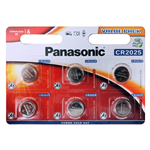 Panasonic CR2025 3V litium 6st