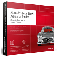 Franzis Mercedes 300 SL Gullwing adventskalender