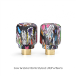 iFlight Crystal LHCP Colorful Short Omni Antennas