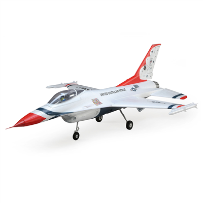 E-Flite F-16 Thunderbirds 70mm EDF BNF AS3X SAFE