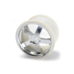 TRX-5373 Traxxas Chrome Wheel Hurricane 3.8 Maxx/R