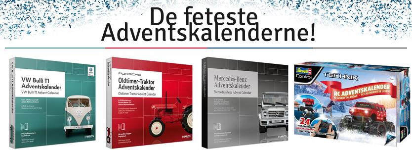 De feteste advendskalenderne 2019